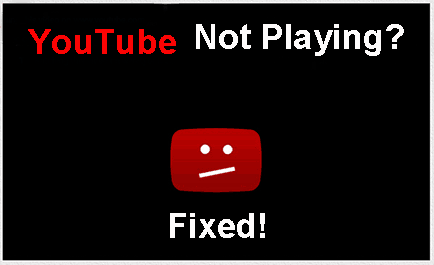 YouTube not working with Chrome